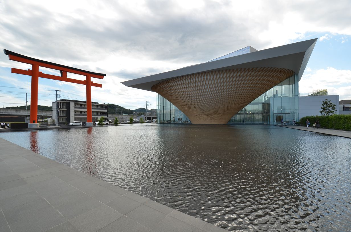 Mount Fuji World Heritage Center by Shigeru Ban