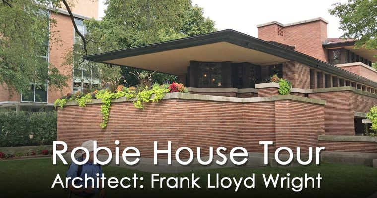 Got Arch Classic : Frank Lloyd Wright's Robie House Tour in 4 Minutes